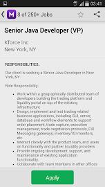 Monster Job Search Screenshot 4