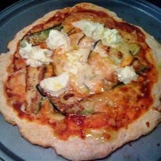 Mascarpone Zucchini Pizza