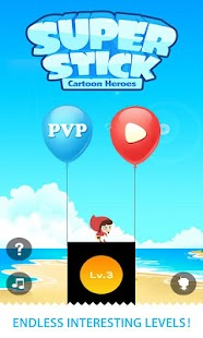 Super Stick Cartoon Hero - screenshot thumbnail