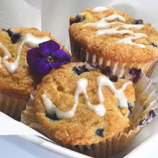 Lemon-blueberry Breakfast Muffins.