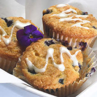 Lemon-blueberry Breakfast Muffins.