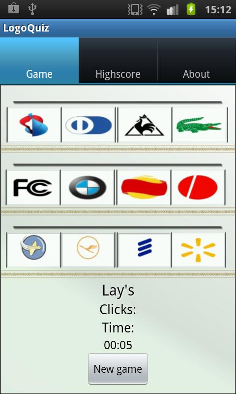 LogoQuiz - screenshot