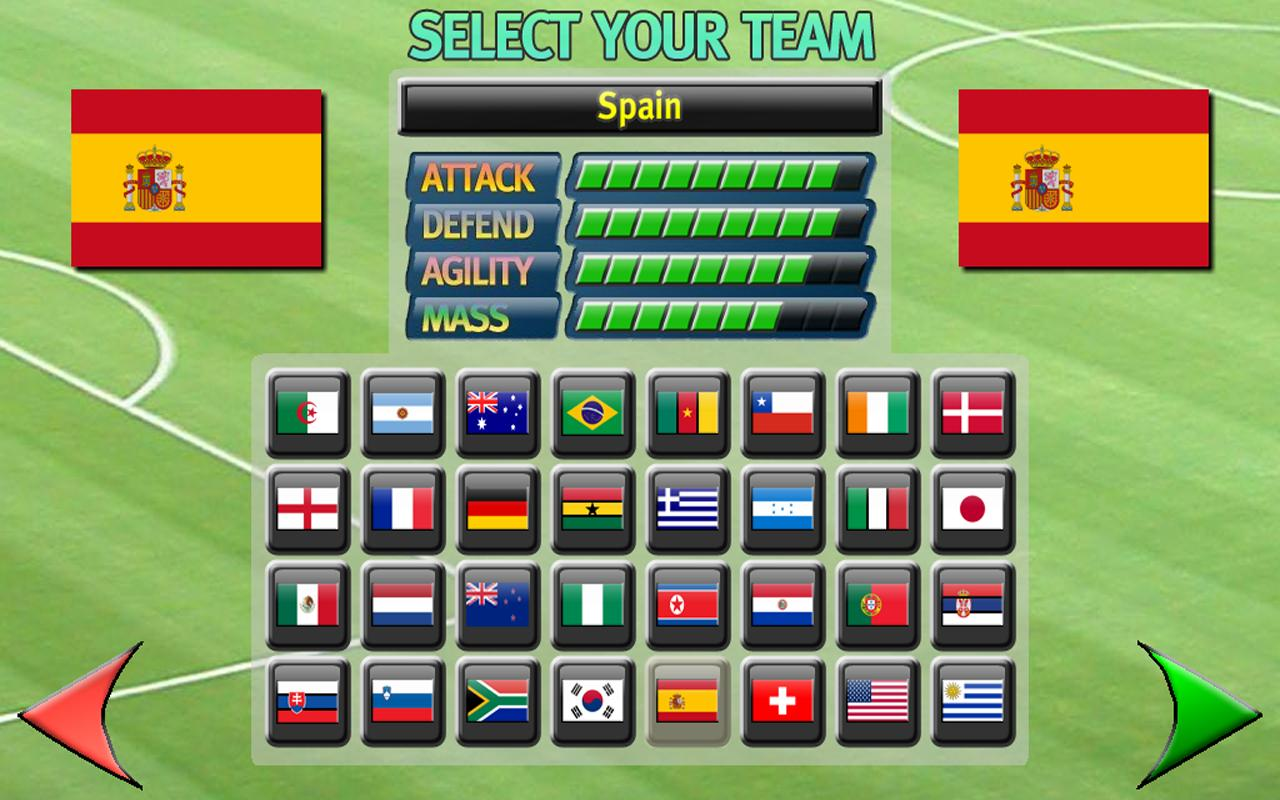 Gravity Football World Cup - screenshot