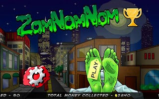 Screenshot of ZomNomNom - Zombie Game