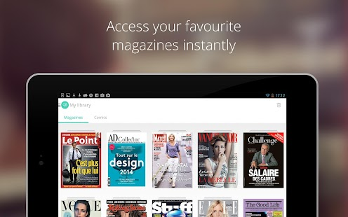 LeKiosk - magazines, anywhere- screenshot thumbnail