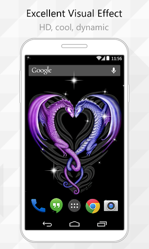 Dragon Heart Live Wallpaper