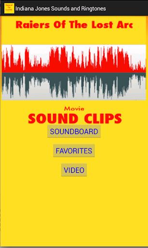 Indiana Jones Soundboard