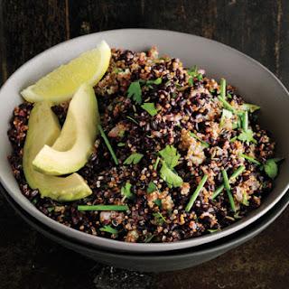 Cumin-Scented Quinoa and Black Rice