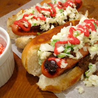 Creamy Hot Dog Slaw