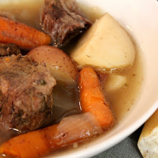 Simple Crock-Pot Beef Pot Roast and Gravy
