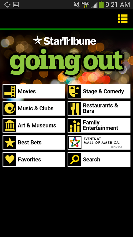 Going Out- screenshot