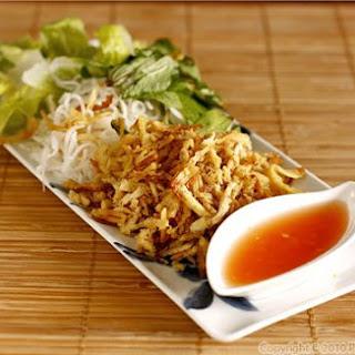 Bi Chay (Vietnamese Vegetarian Recipe).