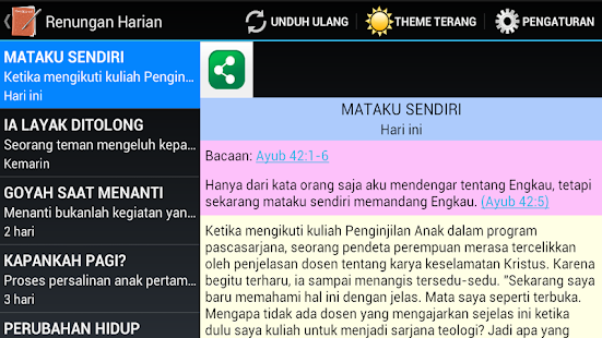 Alkitabku: Bible & Devotional - screenshot thumbnail