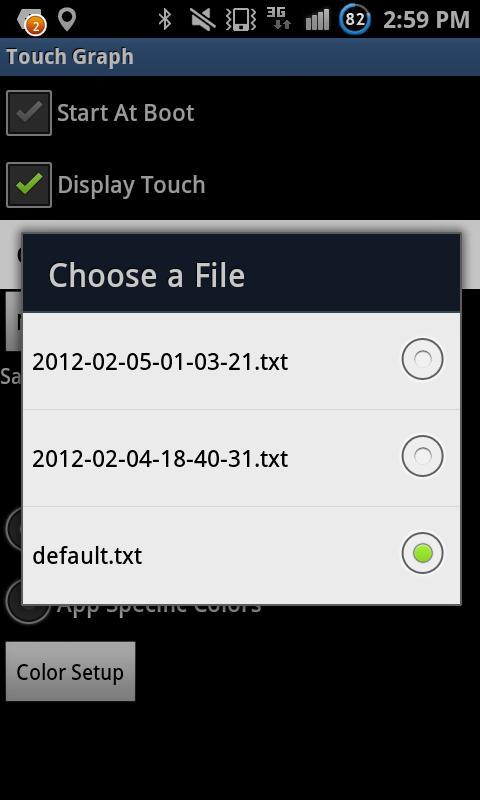 TouchGraph - Visualize Usage- screenshot