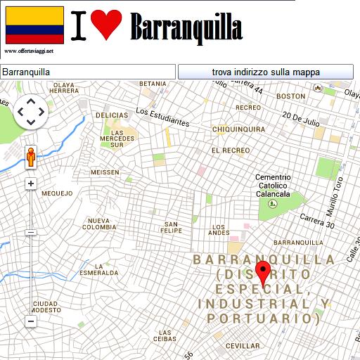 Barranquilla maps LOGO-APP點子