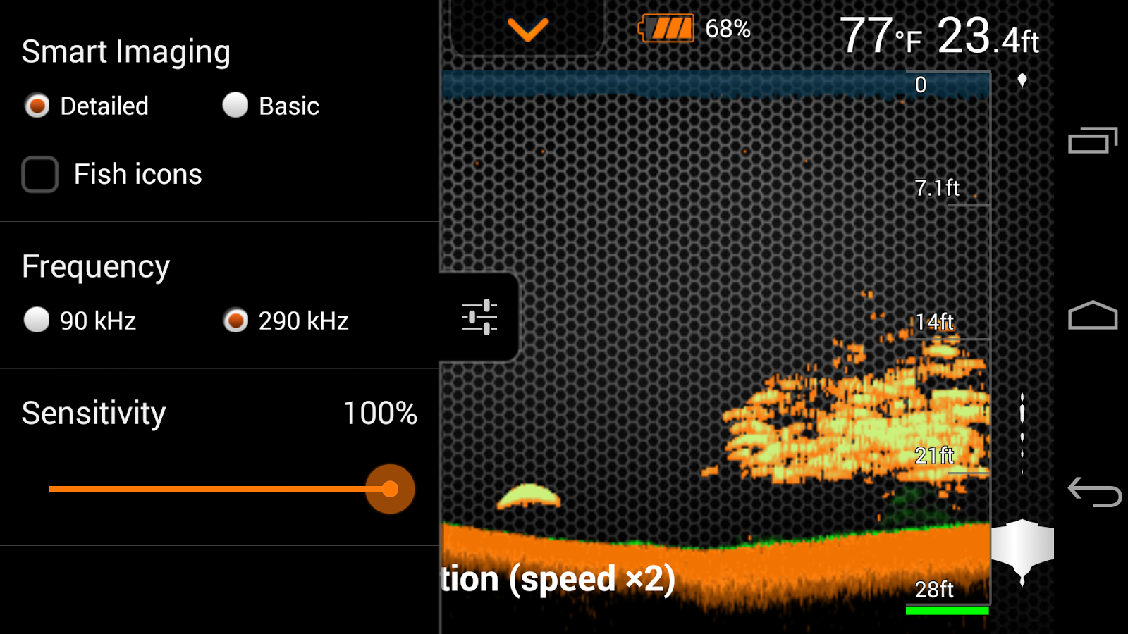 Deeper - Smart Sonar- screenshot