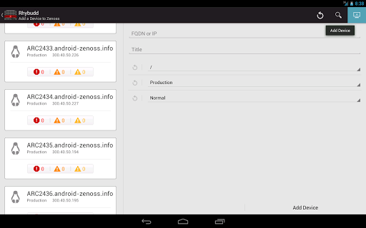 【免費工具App】Rhybudd - Zenoss for Android-APP點子