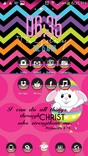【免費個人化App】Bunny Cuteness Go Launcher-APP點子