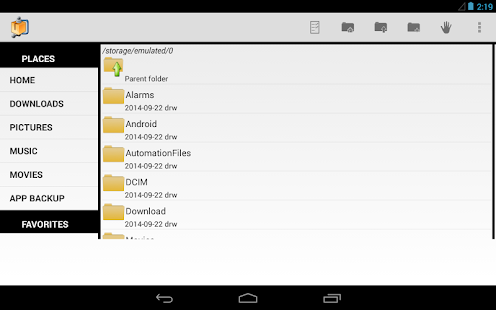 AndroZip™ FREE File Manager- screenshot thumbnail