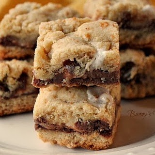 Soft and Chewy S'mores Bars