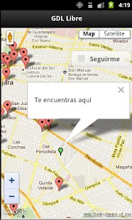 GDL Free Wifi Hotspots - screenshot thumbnail