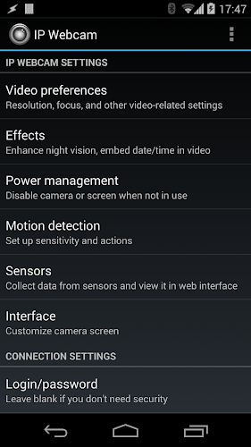 Download IP Webcam APK latest version app by Pavel Khlebovich for
