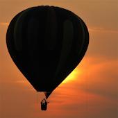 Пять недель на воздушном шаре