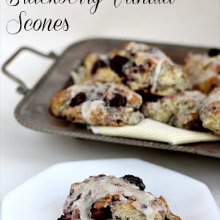 Blackberry Vanilla Scones Recipe