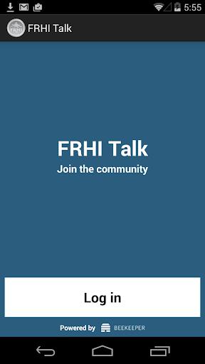 FRHI Talk