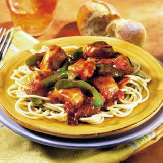Italian Chicken and Peppers for a Crowd.