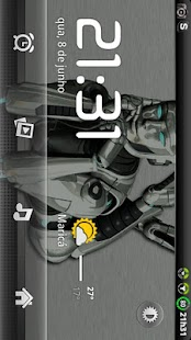 Theme Metal GO Launcher EX - screenshot thumbnail