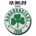 Digital Clock Panathinaikos icon