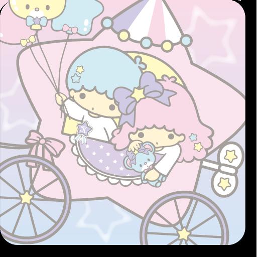 个人化のキキ&ララきせかえホーム(TS36) LOGO-記事Game