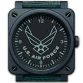 AIR FORCE CLOCK WIDGET