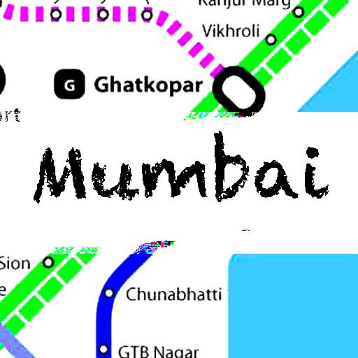 孟买地图 交通運輸 LOGO-玩APPs