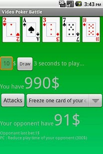 Video Poker Battle- screenshot thumbnail