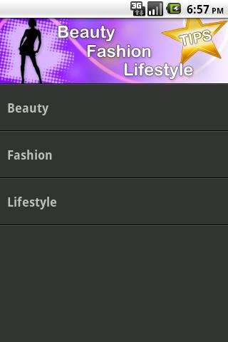 Beauty, Fashion & Lifestyle - screenshot