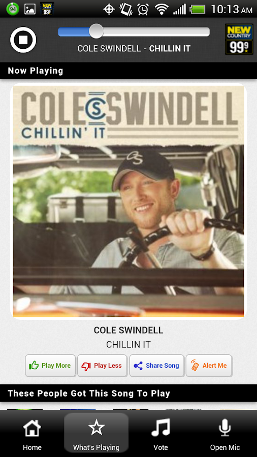 New Country 99.9 Radio - screenshot