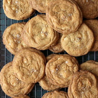 Grapefruit White Chocolate Brown Butter Cookies.
