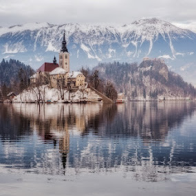Lake Bled, Slovenia by Klemen Ramoves - Landscapes Travel ( slovenia, lake, landscape )