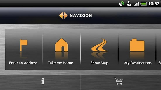 NAVIGON Samsung Australia - screenshot thumbnail
