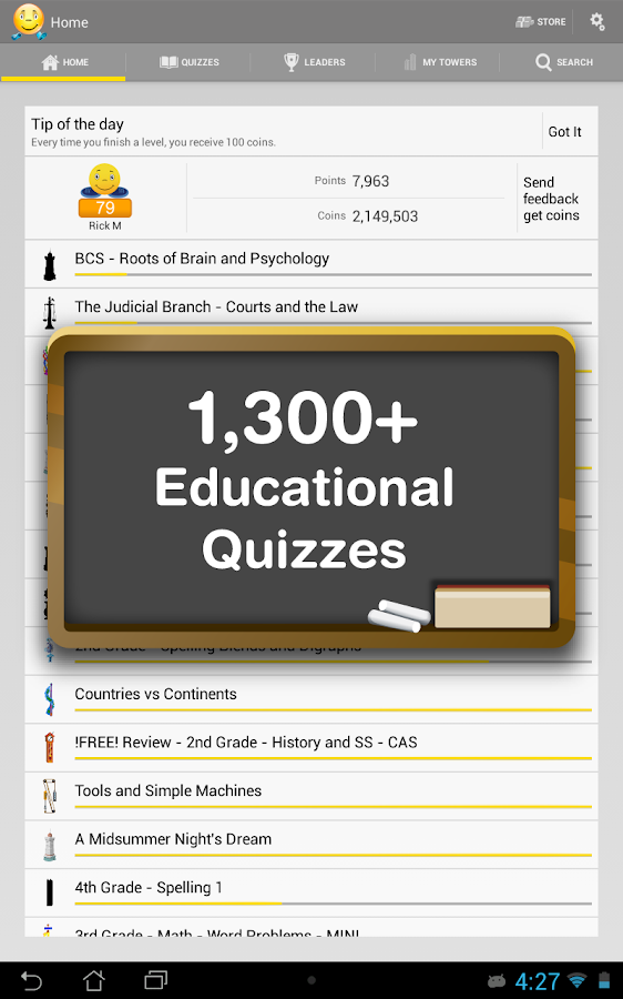 JogNog - Test Prep Quizzes- screenshot