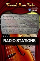 Screenshot of Classical Radio
