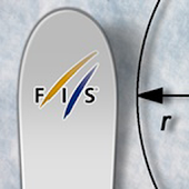 FIS Ski Radius Calculator