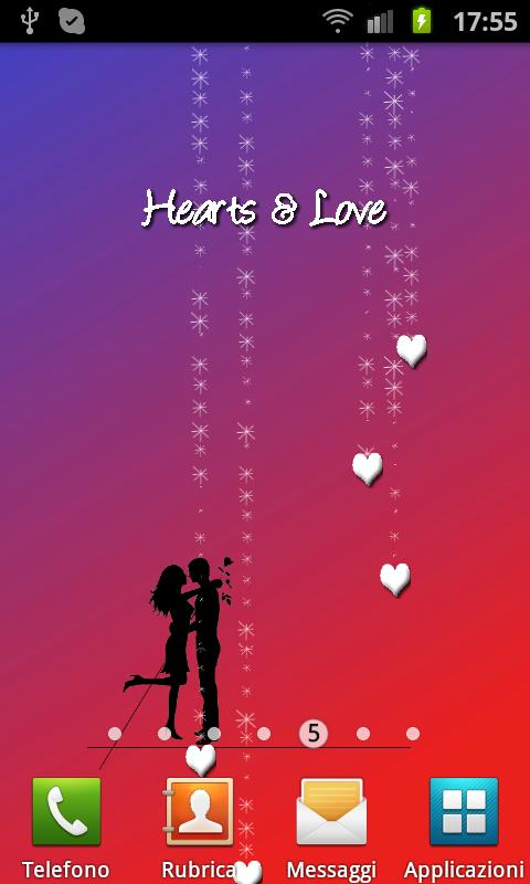 Hearts & Love- screenshot