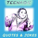 TEENAGE QUOTES &  JOKES (Free) icon