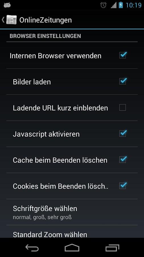 OnlineZeitungen Deutschland- screenshot