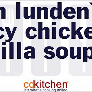 Joan Lunden's Spicy Chicken Tortilla Soup
