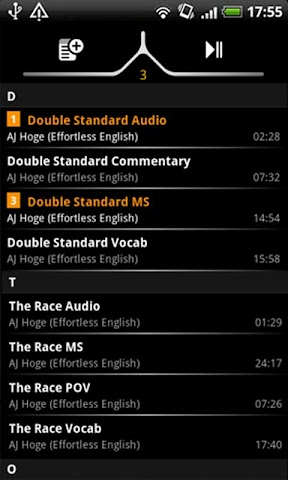 Screenshots for handy MP3 player Full
