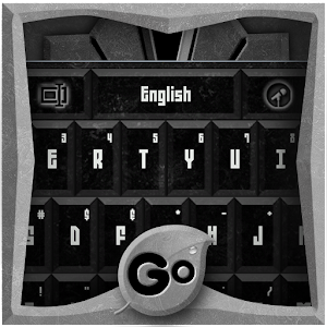 Free Apk android  GO Keyboard Black Stone Theme 1.0  free updated on